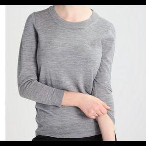 NWT J. Crew 100% Merino Wool Tippi Grey Sweater ◽️